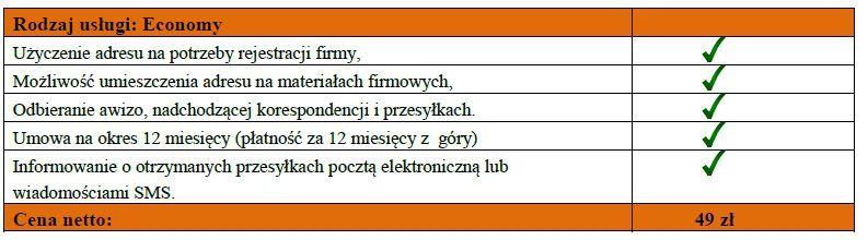 wirtualne biuro oferta economy mm ksiegi rachunkowe warszawa