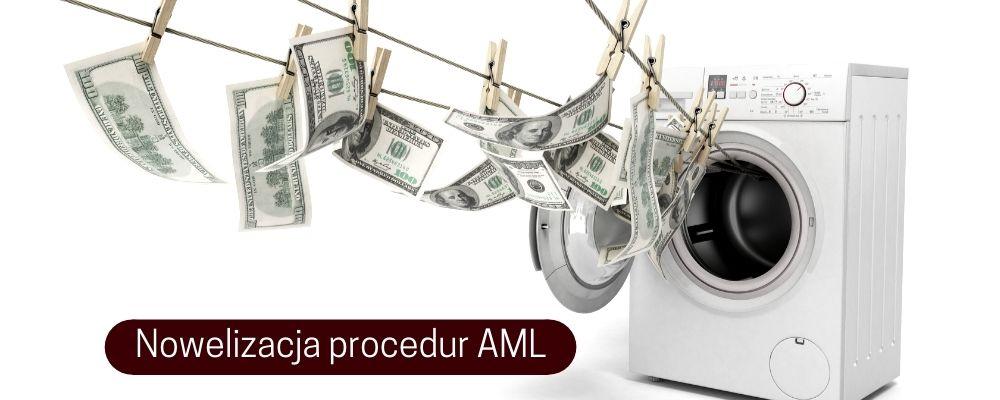 Nowelizacja procedur AML